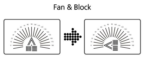LCD Visual Acuity Chart 18